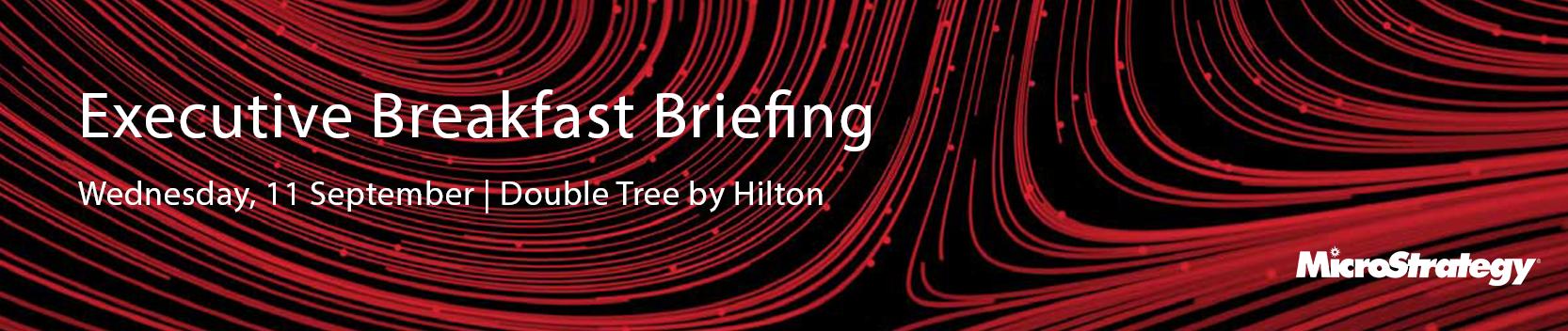 Executive Breakfast Briefing - Melbourne