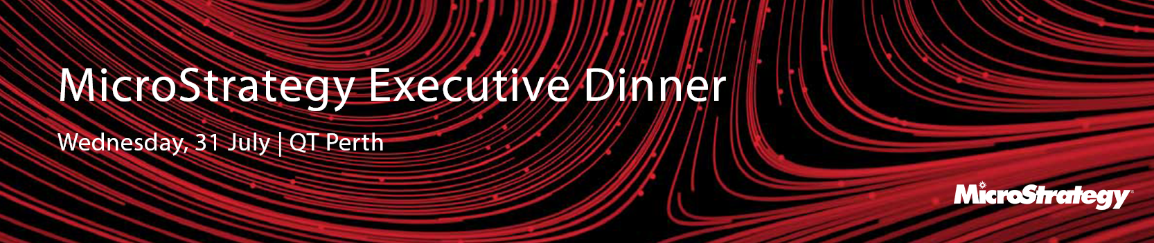 MicroStrategy Executive Dinner - Perth