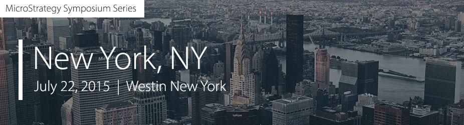 MicroStrategy Symposium- New York