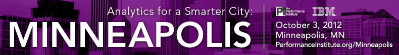 Analytics for a Smarter City: Minneapolis