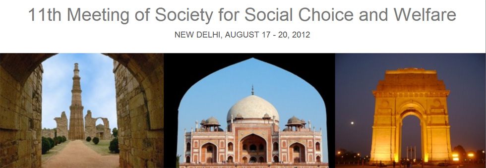 11th Meeting of Society for Social Choice and Welfare