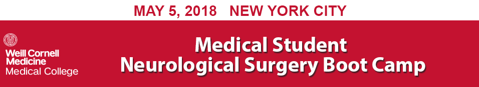 Medical Student Neurosurgery Boot Camp
