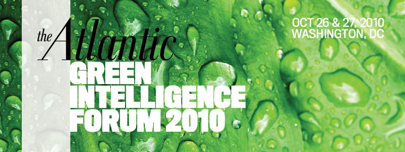 2010 Green Intelligence Forum