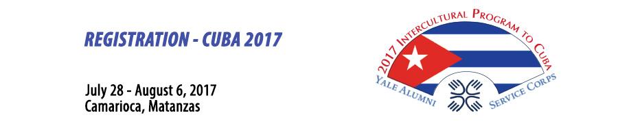 YASC Cuba 2017 Registration