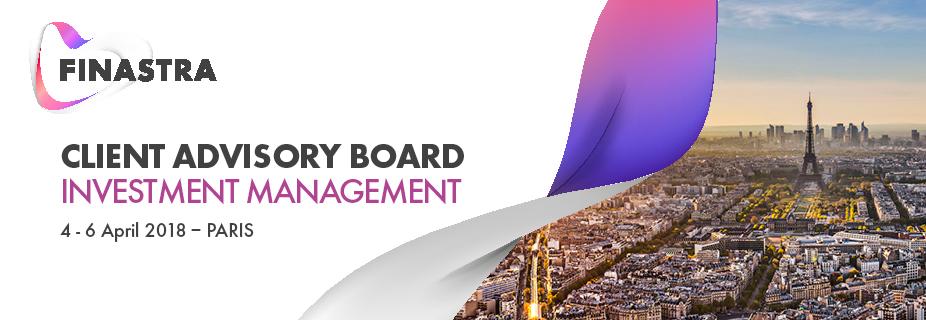 2018 Finastra Capital Markets Client Advisory Board (Paris)