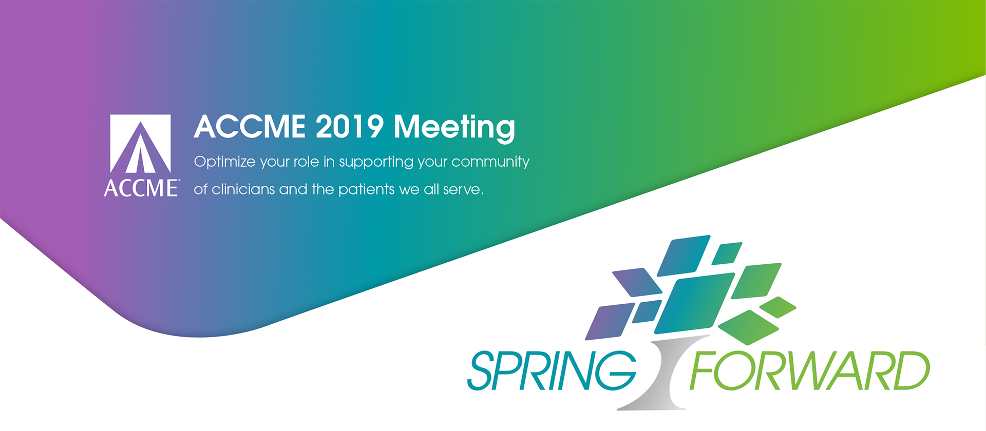 ACCME 2019 Meeting: Spring Forward