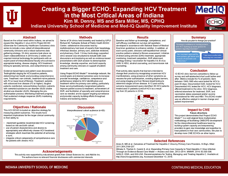 Creating a Bigger ECHO- Expanding HCV Treatment in