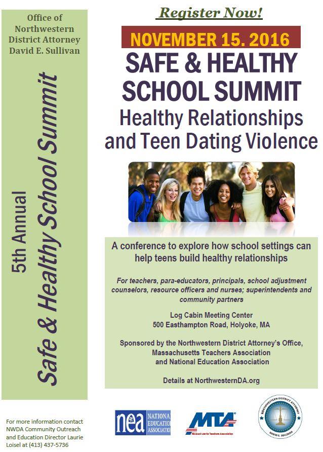Safe & Healthy School Summit Register Now