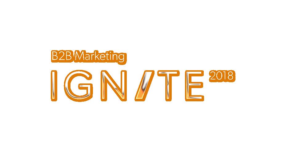 B2B Marketing Ignite 2018
