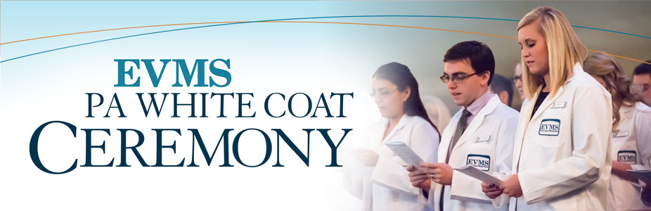 2018 EVMS May PA White Coat Ceremony