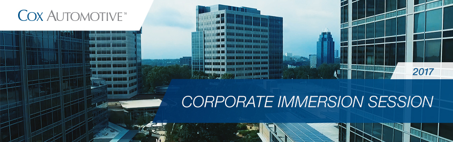 Corporate Immersion Session 1
