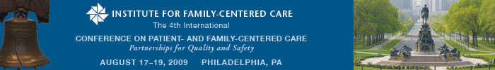 The 4th International Conference on Patient- and Family-Centered Care