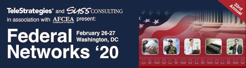 Federal Networks 2020 (Feb 26-27, 2020)