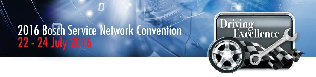 2016 Bosch Service Network Convention
