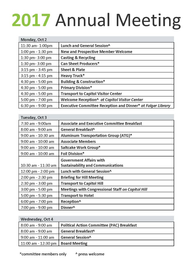 Annual Fall Meeting 2017 Schedule _updated 9-13_sc