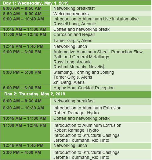 DS schedule