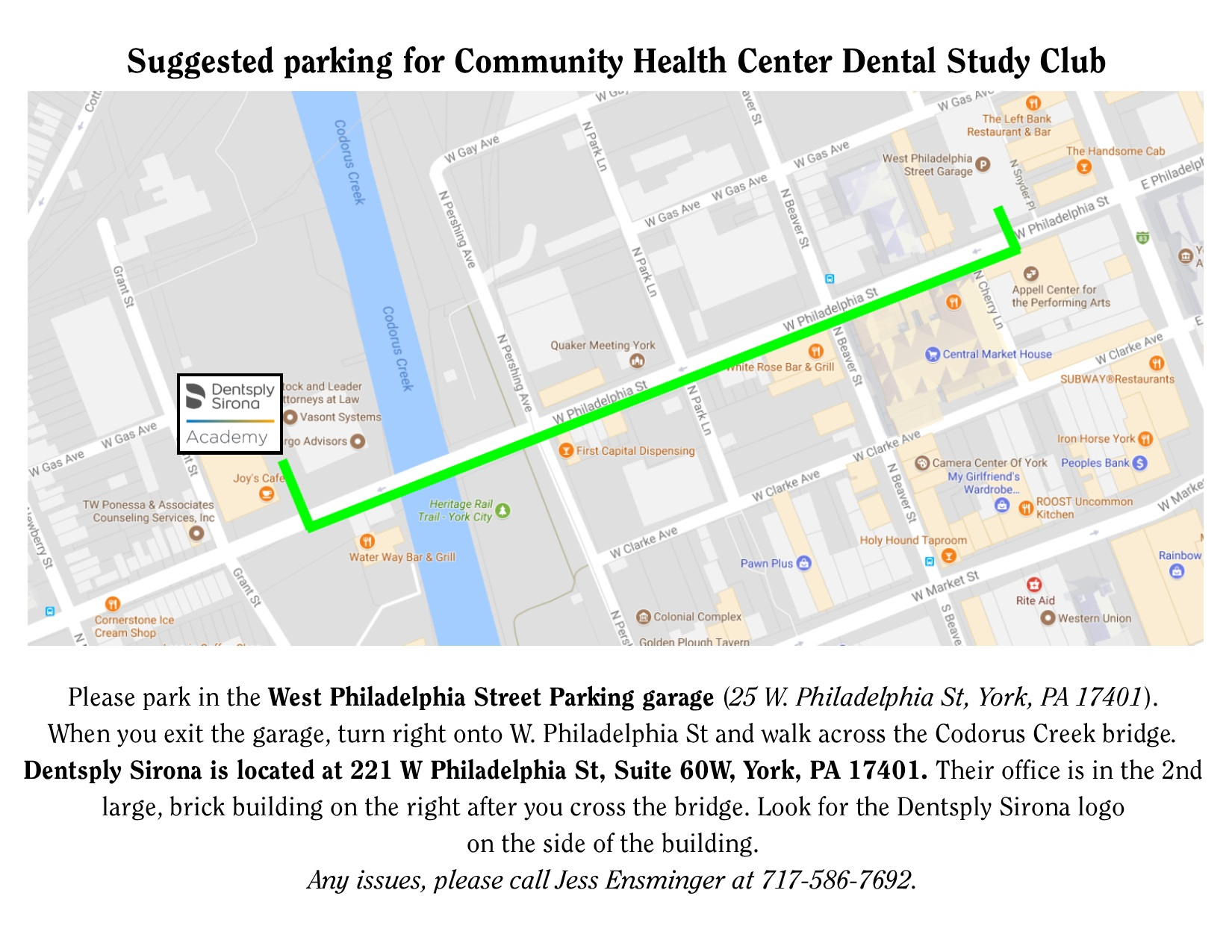 Parking Map - Dentsply Sirona FFH event (002)