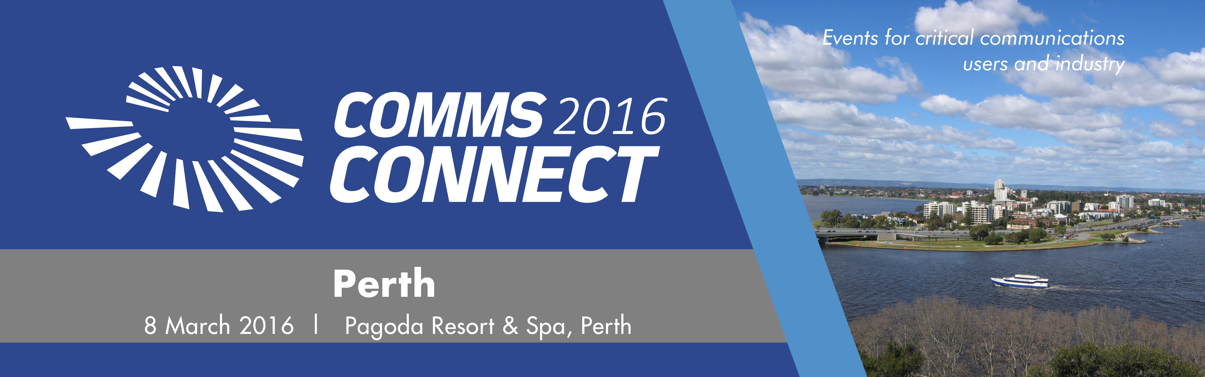 Comms Connect Perth 2016