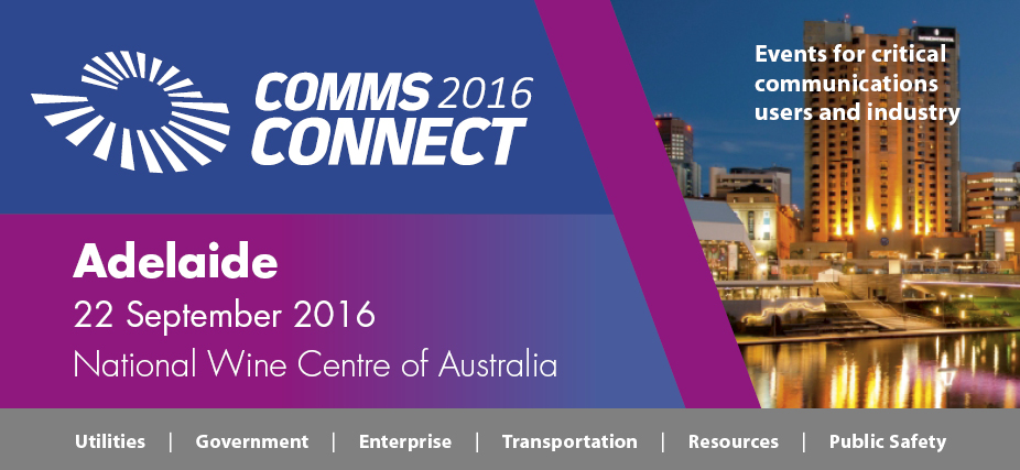 Comms Connect Adelaide 2016