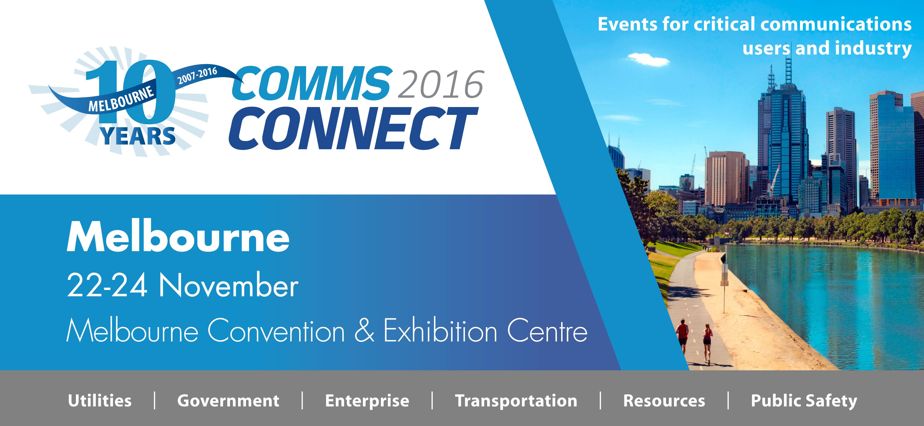 Comms Connect Melbourne 2016