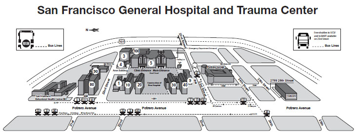 SFGH-Map