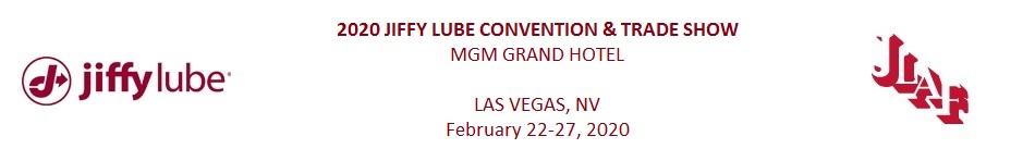 2020 Jiffy Lube Convention & Trade Show
