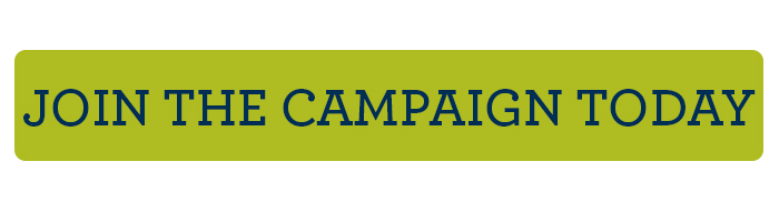 Join the campaign today rounded button