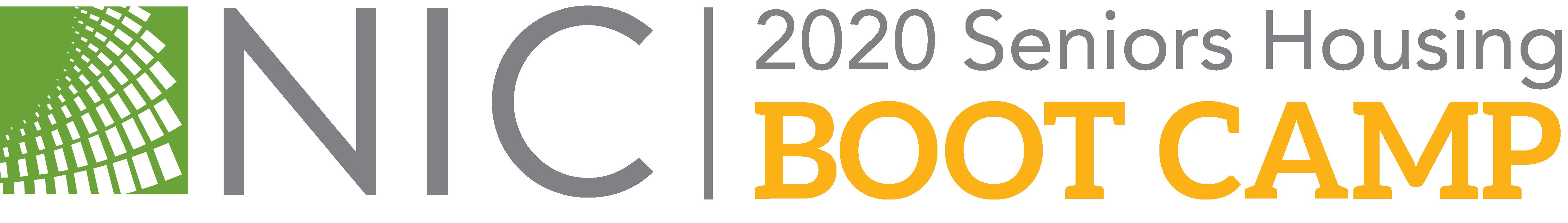 2020 NIC Seniors Housing Boot Camp