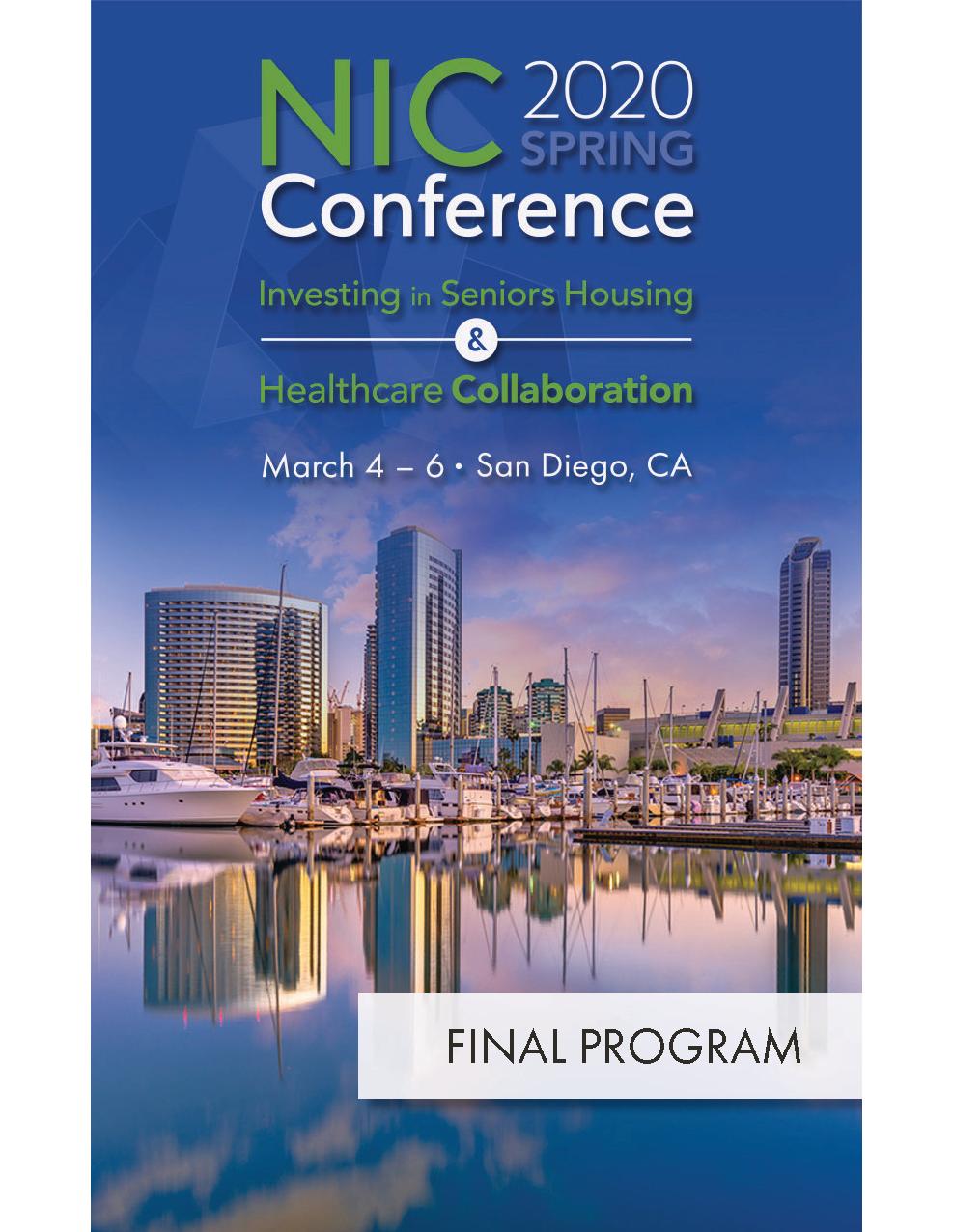 NIC_Spring2020_FinalProgram Cover