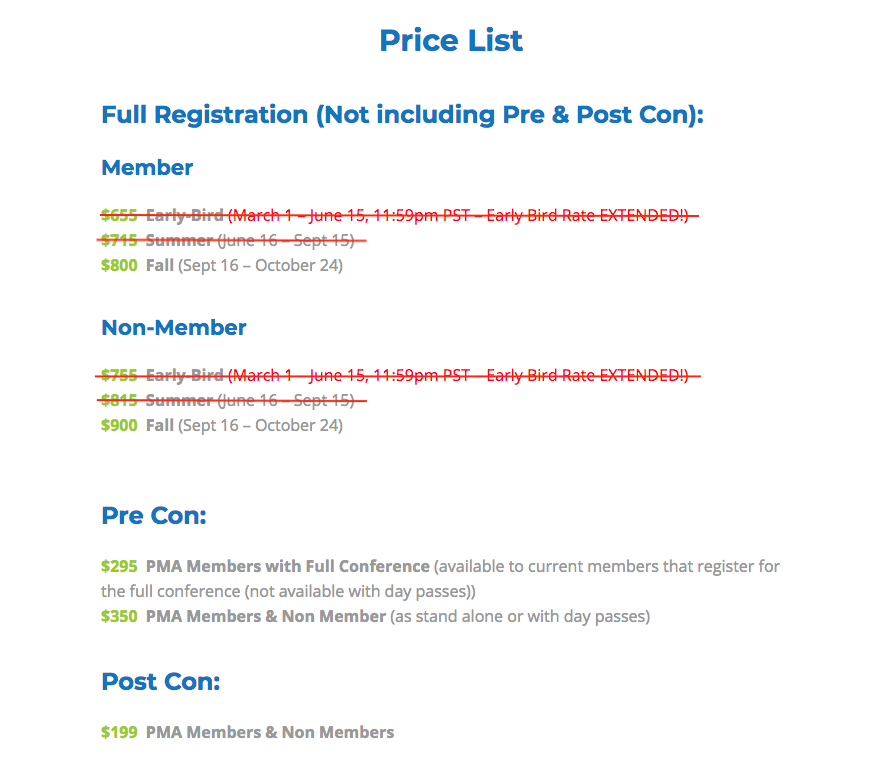 Top Price List