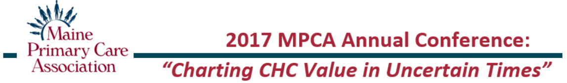 2017 MPCA Annual Conference - Charting CHC Value in Uncertain Times