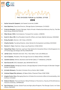 2016 Forum Speakers