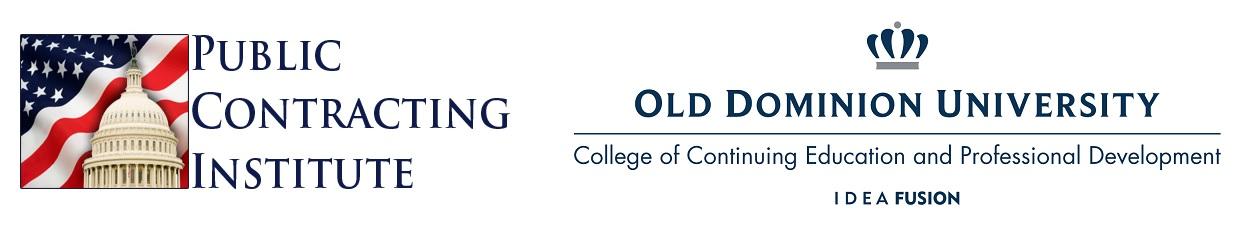ODU-PCI Symposium on the Acquisition, Procurement,  and Contract Management Workforce