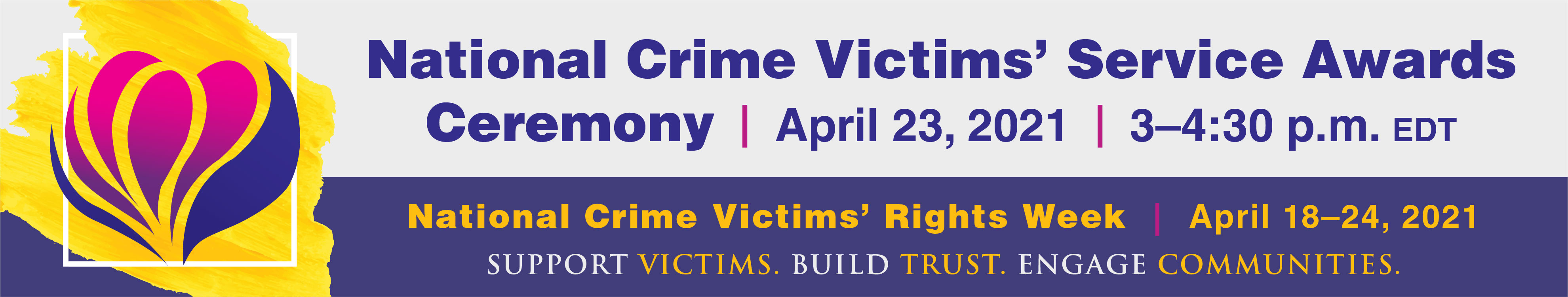 National Crime Victims' Service Awards Ceremony