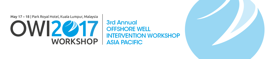 3rd Offshore Well Intervention Workshop, Asia Pacific