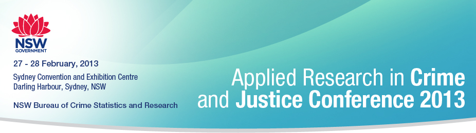 The Applied Research in Crime and Justice Conference 2013