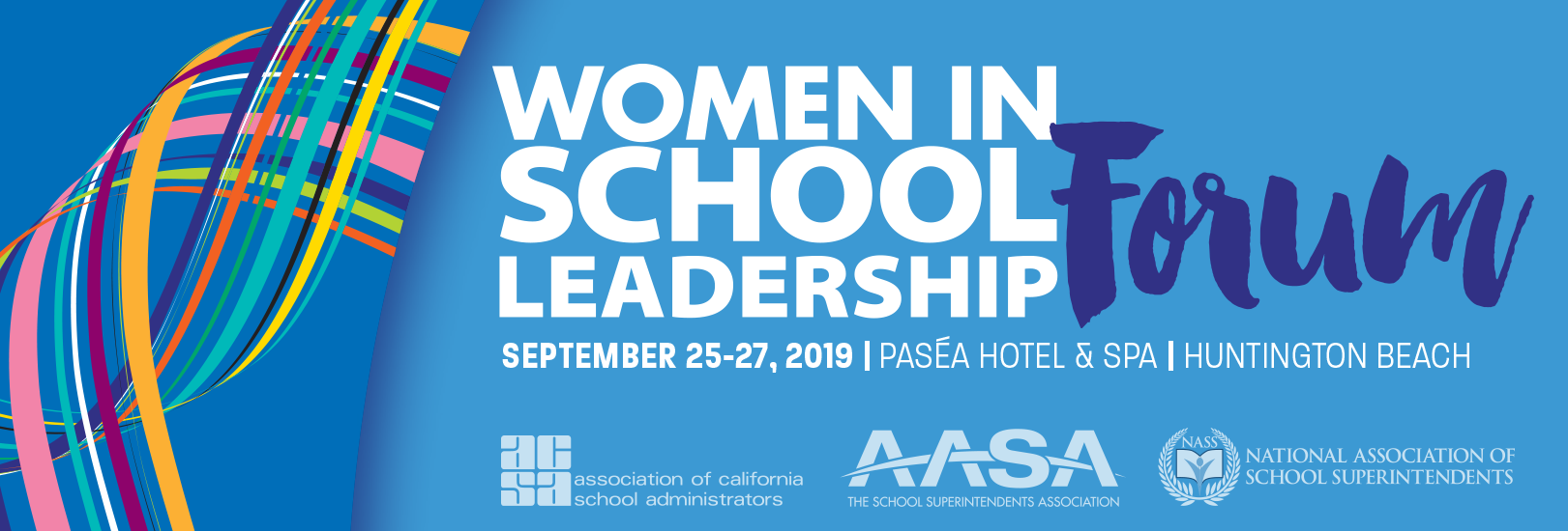 2019 Women in School Leadership Forum