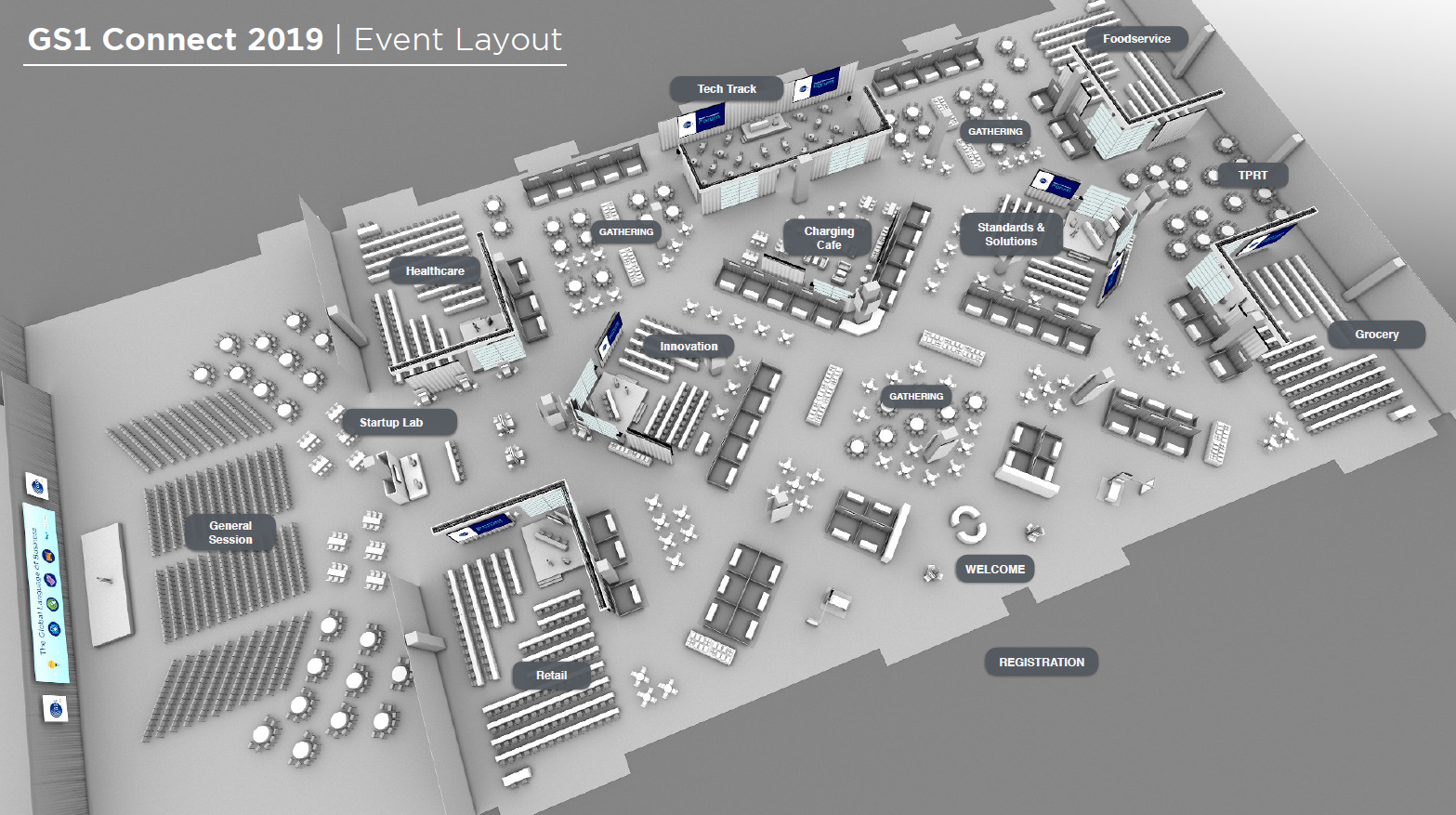 GS1 Connect 2019_Startup Lab_Event Layout