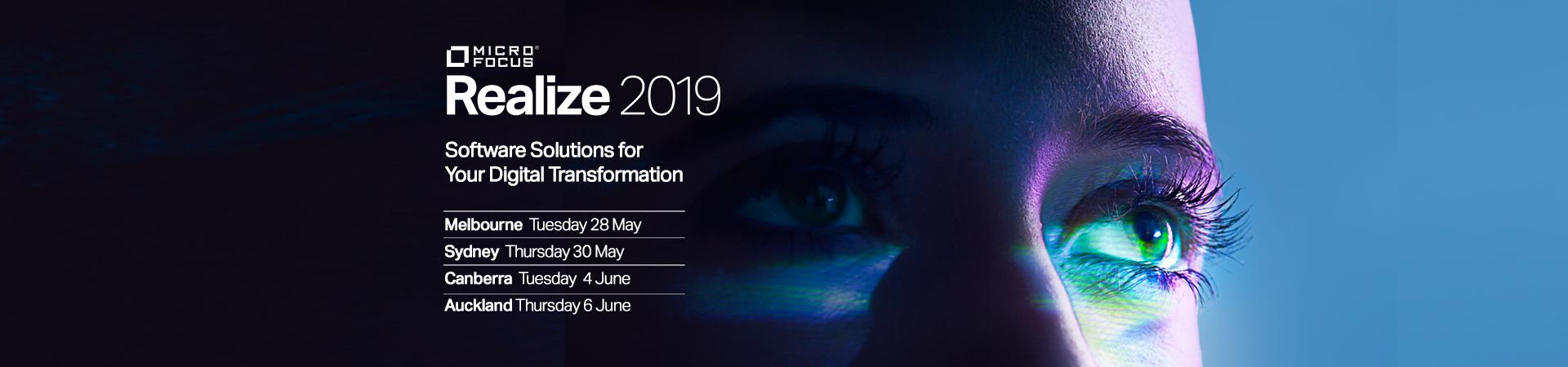 Micro Focus REALIZE 2019