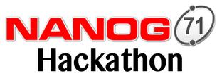 Hackathon at NANOG 71