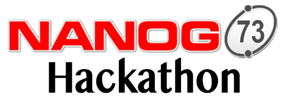 Hackathon at NANOG 73