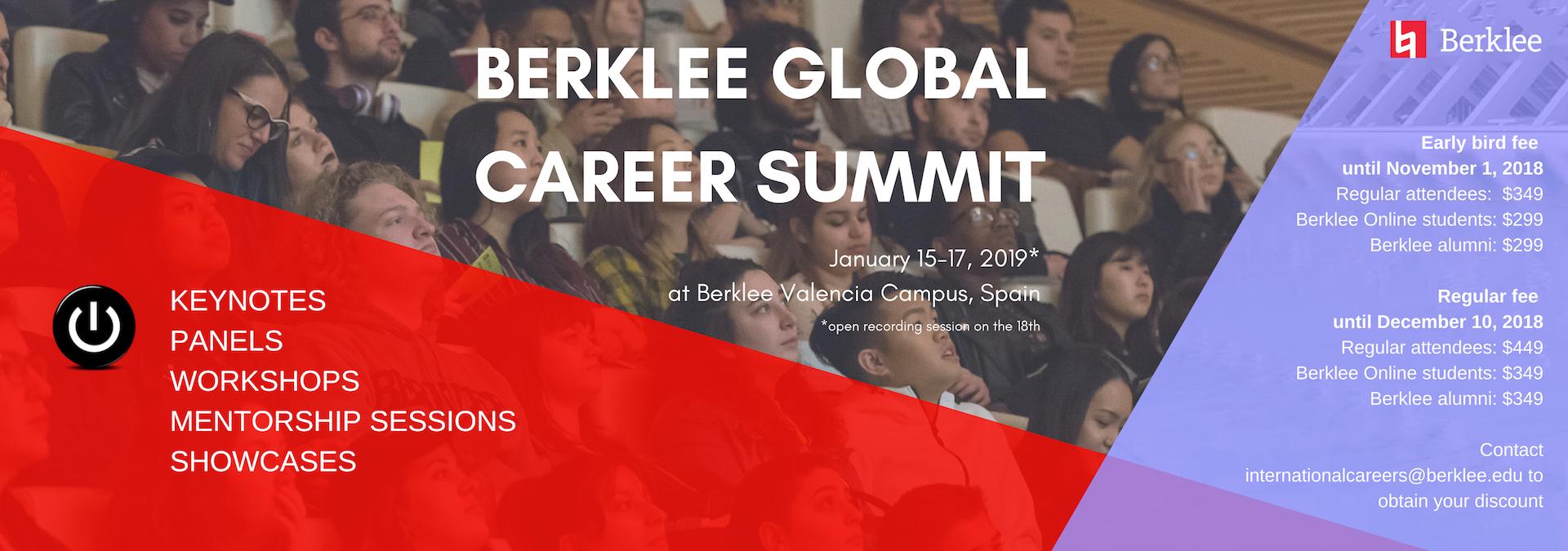 Berklee Global Career Summit 2019