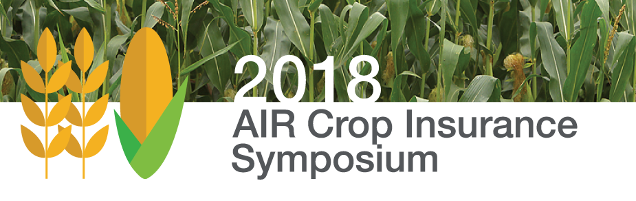 AIR Crop Insurance Symposium