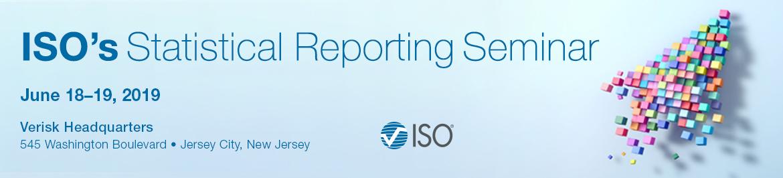2019 ISO's Statistical Reporting Seminar
