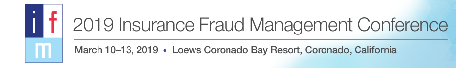 2019 Insurance Fraud Management Conference Exhibit Booth Registration