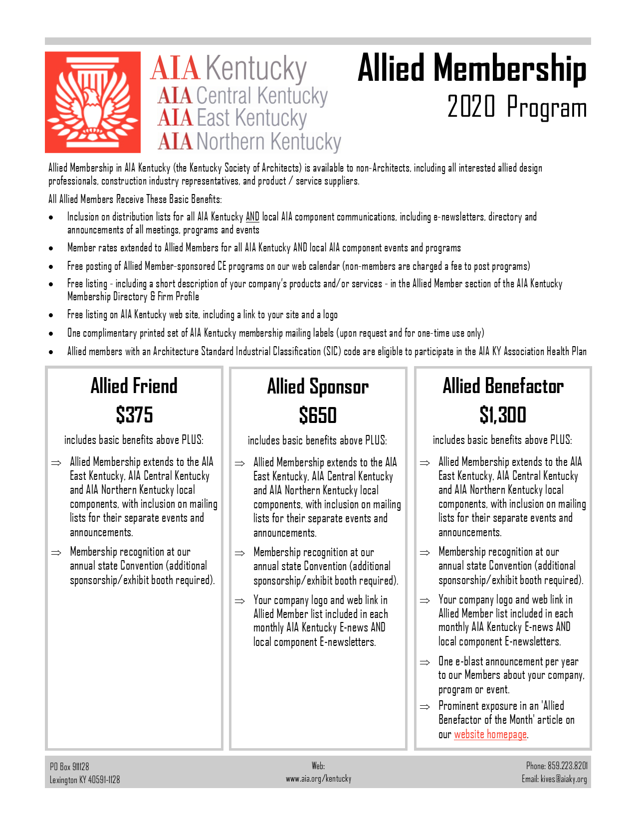 2020 Allied First Page