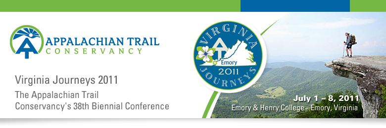 Virginia Journeys 2011:  The 38th  Biennial Conference of the Appalachian Trail Conservancy