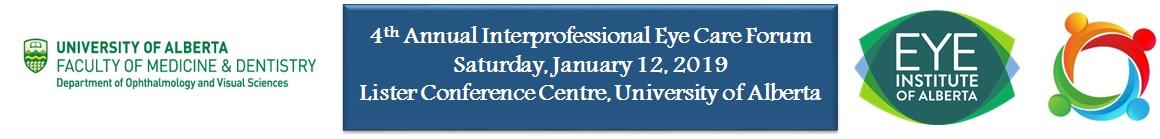 4th Annual Interprofessional Eye Care Forum 2019