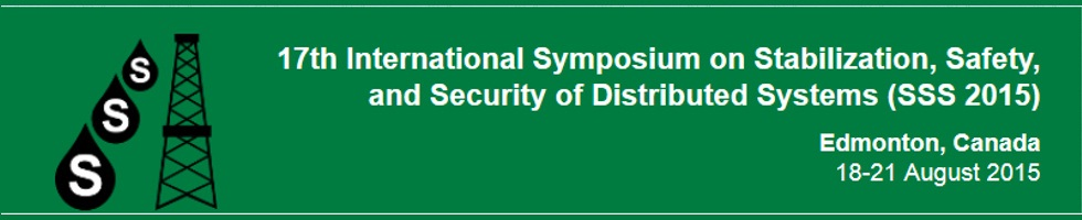 17th International Symposium on Stabilization, Safety, and Security of Distributed Systems (SSS 2015)