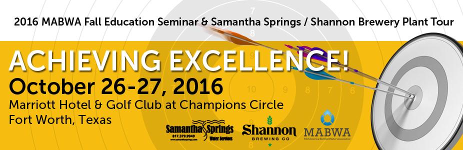 2016 MABWA Fall Education Seminar & Samantha Springs / Shannon Brewing Company Plant Tour